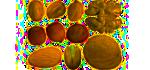 Ořechy, jádra, ořechy v polevě