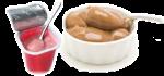 Rostlinné nápoje, dezerty a šlehačky, kombucha
