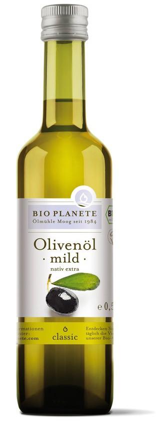 Olej olivový jemný extra panenský BIO 500ml