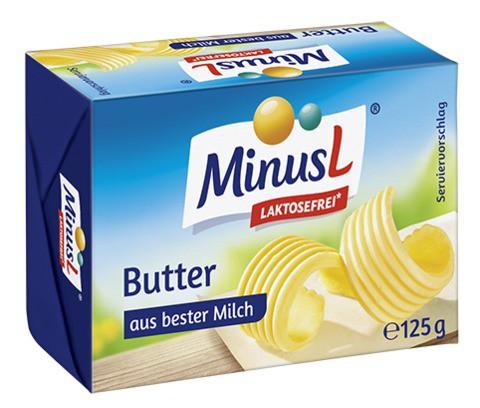 MinusL: Máslo bez laktózy 125g