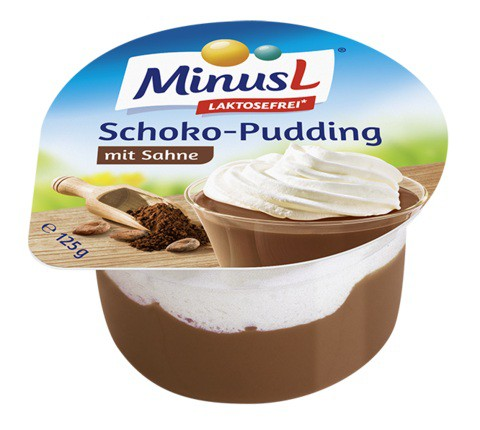 MinusL: Puding čokoládový bez laktózy 125g