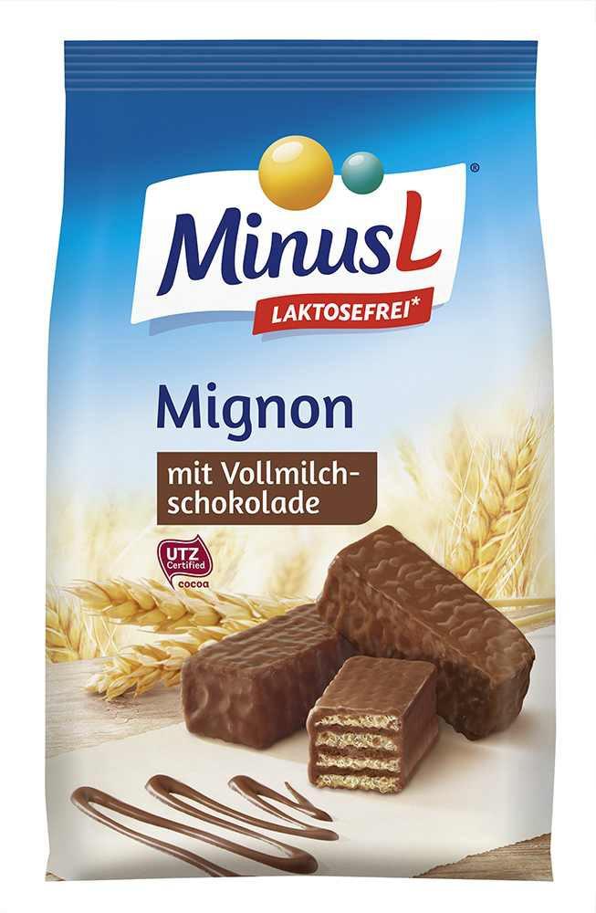 MinusL: Sušenky Mignon bez laktózy 200g