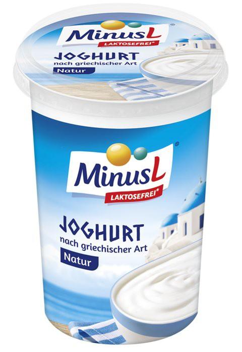 MinusL: Jogurt bílý řecký 9% bez laktózy 400g