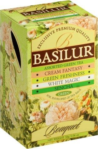Basilur: Assorted Green Tea 4x5x2g