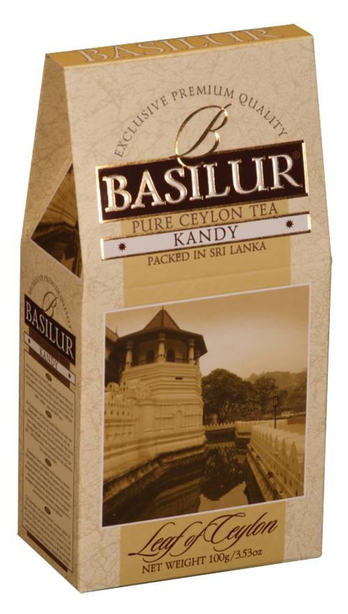 Basilur: Kandy černý čaj sypaný 100g