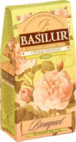 Basilur: Green Tea Cream Fantasy 100g