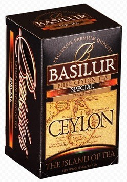 Basilur: Island of Tea Special 20x2g