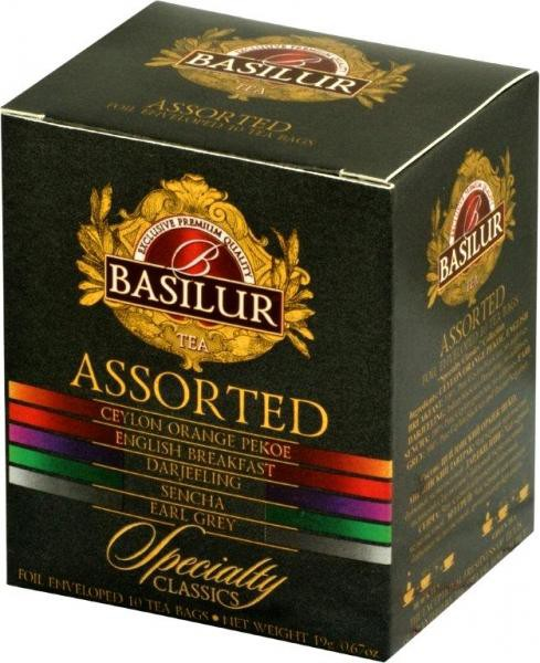 Basilur: Specialty Classics variace čajů Assorted 8x2g a 2x1,5g