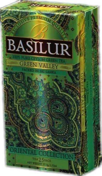 Basilur: Green Valley 25x1,5g