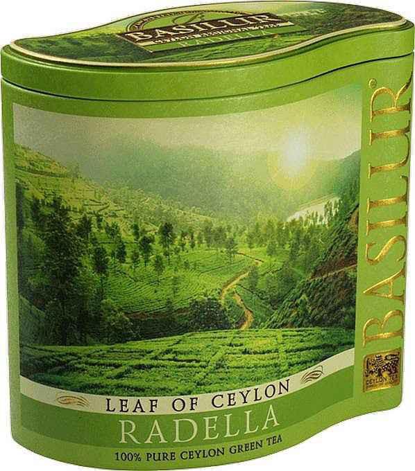 Basilur: Green Tea Radella 100g