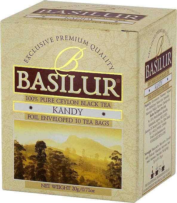 Basilur: Kandy černý čaj 10x2g