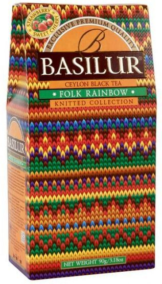 Basilur: Knitted Collection Folk Rainbow 90g