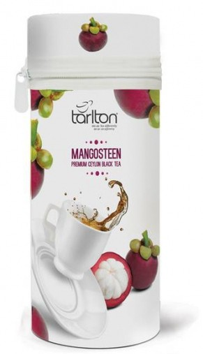 Tarlton: Black Tea Zip Mangosteen plech 75g