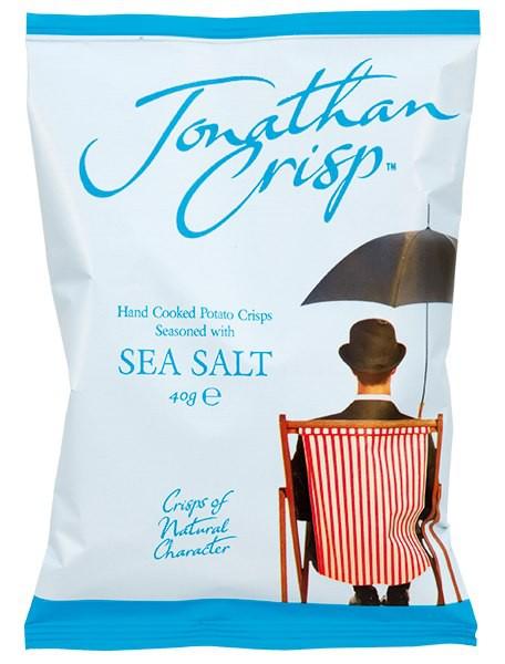 Jonathan Crisp: Chipsy s mořskou solí 40g