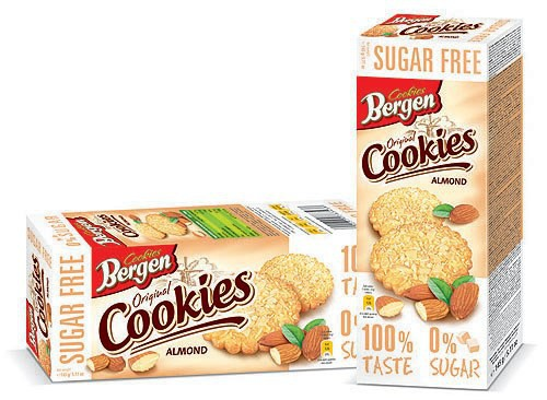 Sušenky mandlové bez cukru 145g