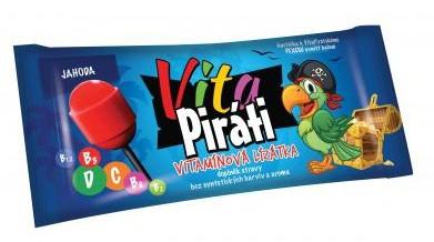 Biotter: VitaPiráti vitamínové lízátko 11g