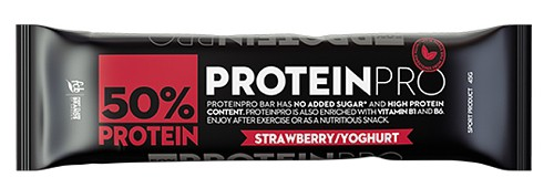 Proteinpro Bar jahoda jogurt 45g