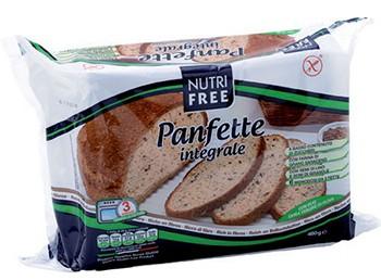 NutriFree: Chléb celozrnný krájený předpečený bezlepkový (6x80g) 480g