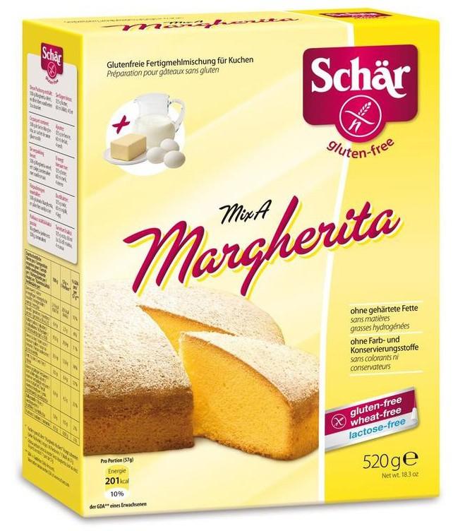 Schär: Mix A Margherita bezlepkové 520g