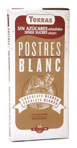 Bílá čokoláda na vaření bez cukru 200g