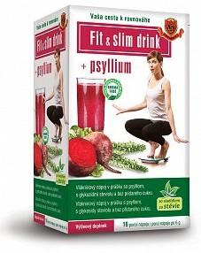 Herbex: Fit & slim drink + Psyllium 16x6g