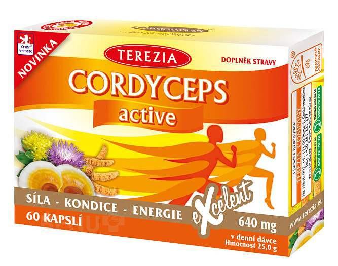 Terezia Cordyceps active 60cps.