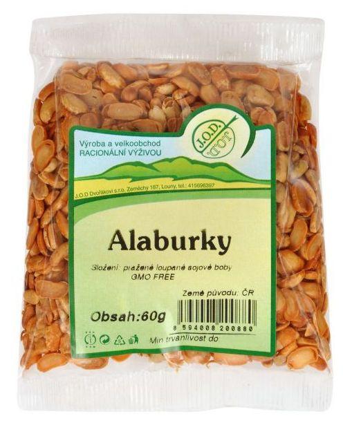 Alaburky sójové oříšky 60g