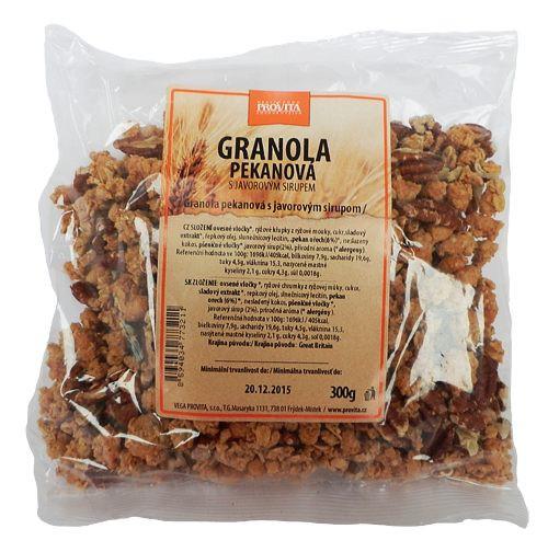 Granola pekanová s javorovým sirupem 300g