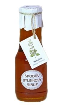 Škodův bylinkový sirup: Meduňka 400g