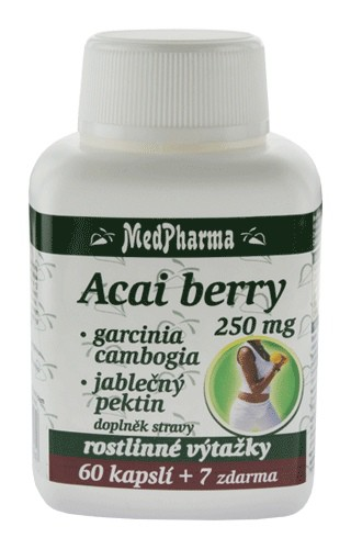 Acai berry 250 mg 60+7cps.