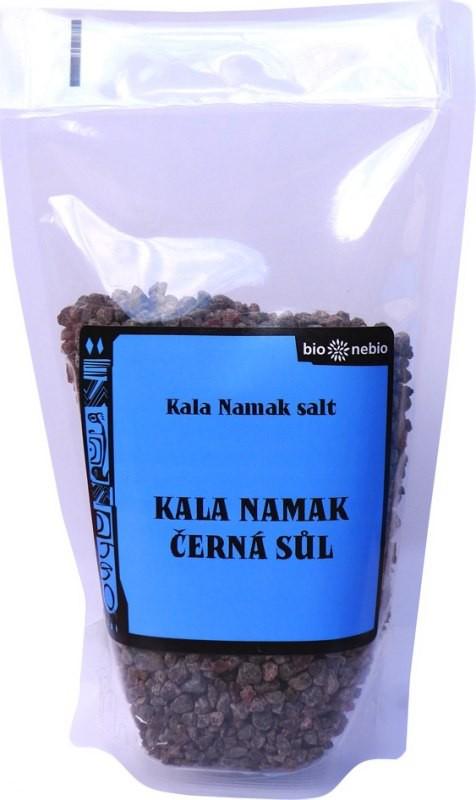 Kala Namak černá indická sůl pražená 300g