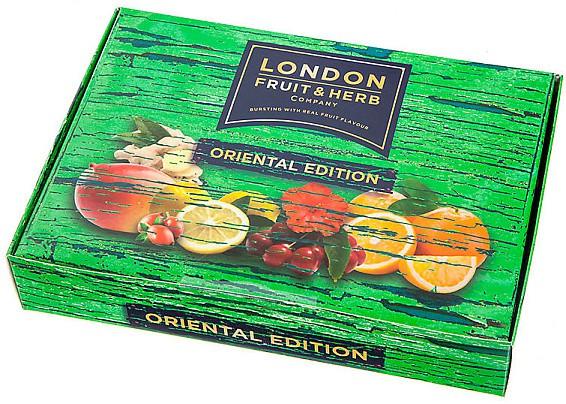 London: Čajová variace Fruit & Herb zelený 30x2g