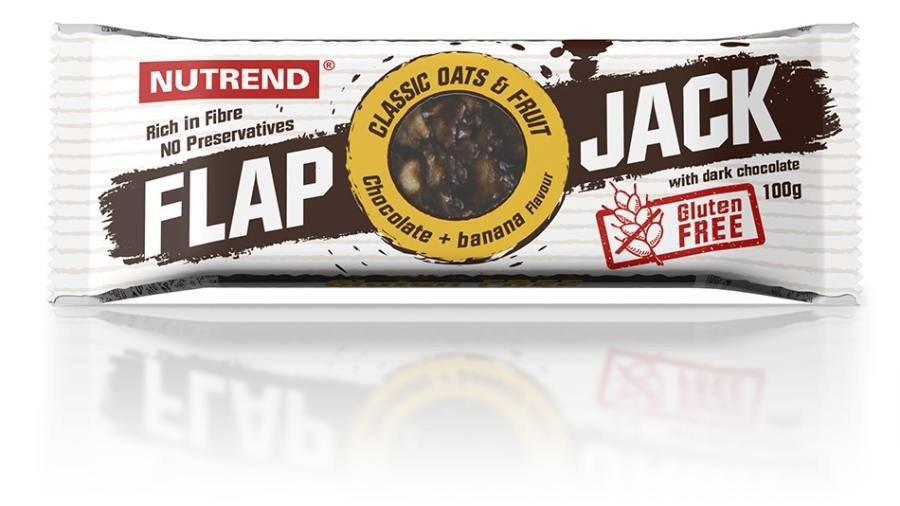 Flapjack bezlepkový čokoláda & banán 100g