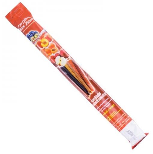 Osvěžující ovocné trubičky broskev bez cukru 135g