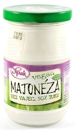 Majonéza bez vajec VEGAN 250ml