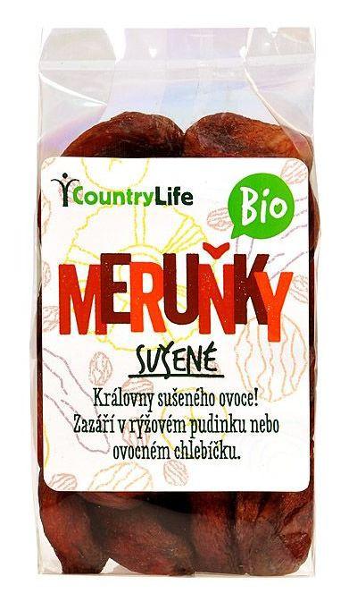 Meruňky sušené BIO 200g