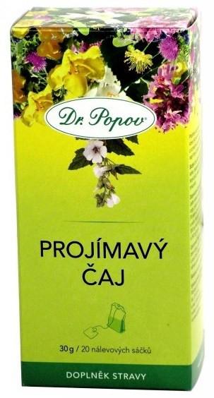 Dr.Popov: Projímavý čaj 20x1,5g