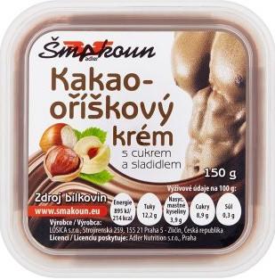 Šmakoun krém kakaooříškový 150g