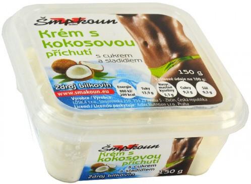 Šmakoun krém kokosový 150g