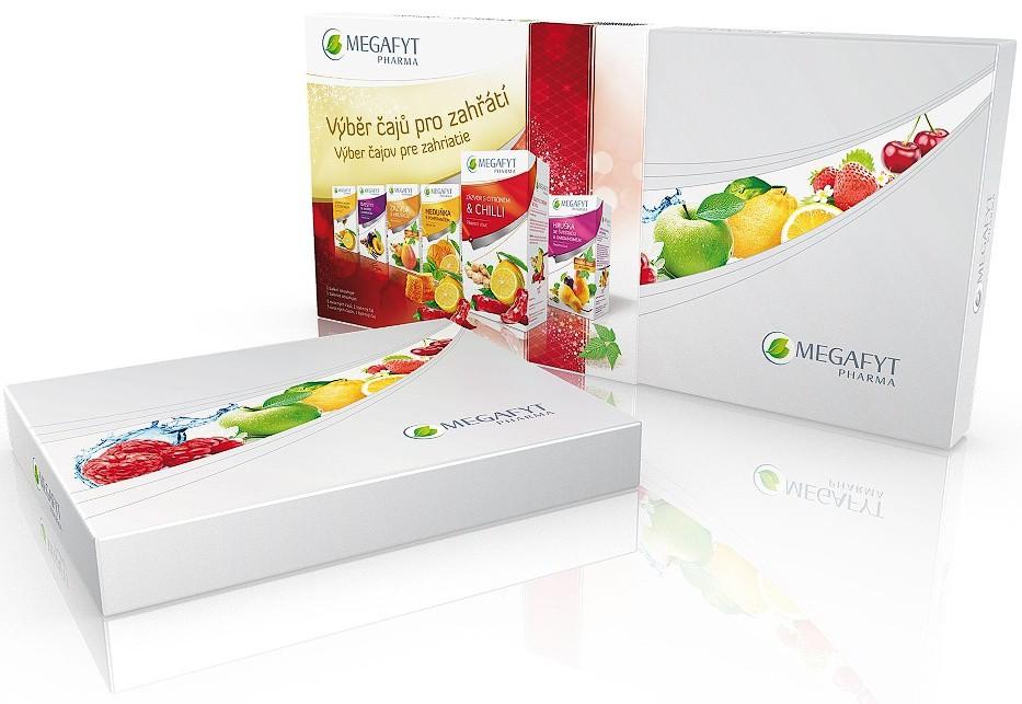 Megafyt: Výběr čajů pro zahřátí 30x2g