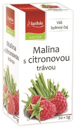 Apotheke: Malina s citronovou trávou 20x2g