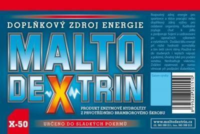 Maltodextrin X-50 500g