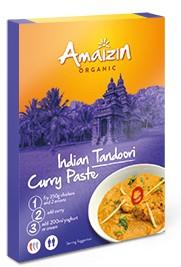 Amaizin: Indická Tandoori Curry pasta BIO 80g