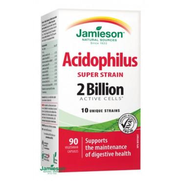 Jamieson: Acidophilus Super Strain 90cps.