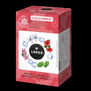 Leros: Cold brew bucco&máta 20x1,5g
