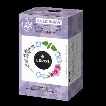 Leros: Cold brew levandule&meduňka 20x1g