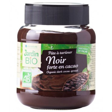 Jardin Bio: Pomazánka kakaová tmavá BIO 350g