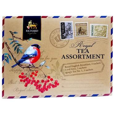 Richard Royal Tea Assortment obálka kolekce 9x2g