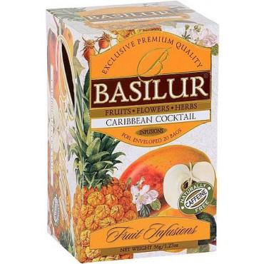 Basilur: Fruit Caribbean Cocktail 20x1,8g