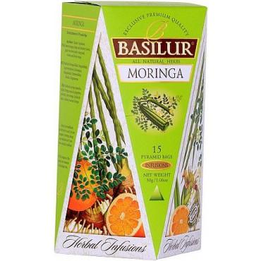 Basilur: Herbal Infusions Moringa 15x2g